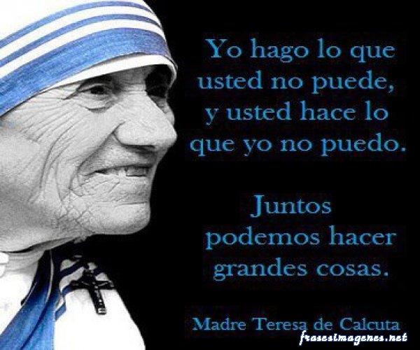 Santa Madre Teresa De Calcuta Ella Estuvo Allí